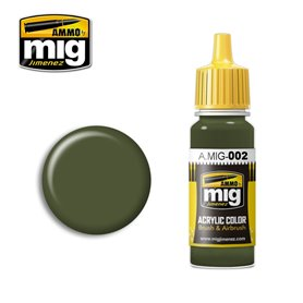 Ammo of MIG Farba akrylowa RAL 6003 OLIVGRÜN OPT.2