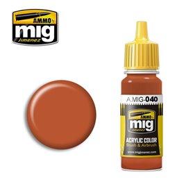 Ammo of MIG Farba akrylowa Medium Rust - 17ml
