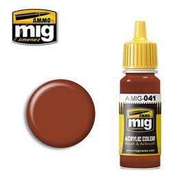 Ammo of MIG Farba akrylowa Dark Rust - 17ml
