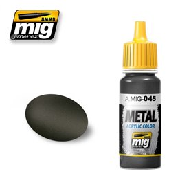 Ammo of MIG Farba akrylowa Gun Metal - 17ml