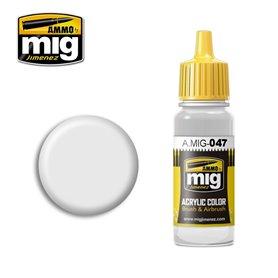 Ammo of MIG Farba akrylowa Satin White - 17ml