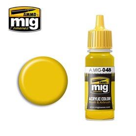 Ammo of MIG Farba akrylowa Yellow - 17ml