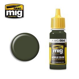 Ammo of MIG Farba akrylowa NATO Green - 17ml