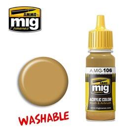 Ammo of MIG Farba akrylowa Washable Sand - RAL 8020 - 17ml
