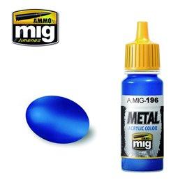 Ammo of MIG Farba akrylowa Warhead Metallic Blue - 17ml