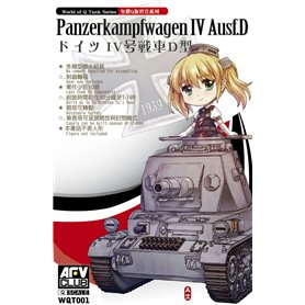 "AFV Club WQT001 PzKpfw IV Aus. D ""Q World """
