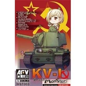 AFV Club KV-1 - WORLD OF Q TANK SERIES