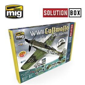 Ammo of MIG Solution Box WWII Luftwaffe Late Fighter