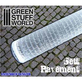 Green Stuff World Sett Pavement Rolling pin