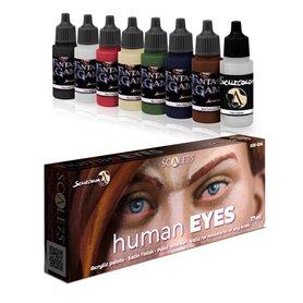 Scale 75 Zestaw farb Human Eyes