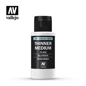 Vallejo THINNER MEDIUM - rozcieńczalnik - 60ml