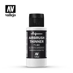 Vallejo AIRBRUSH THINNER - rozcieńczalnik do aerografu - 60ml
