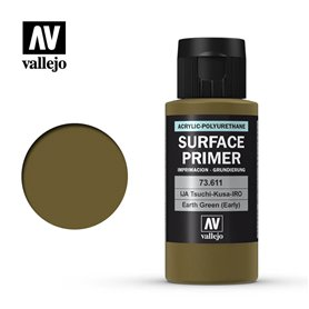 Vallejo SURFACE PRIMER Earth Green IJA