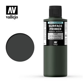 Vallejo Podkład akrylowy SURFACE PRIMER 200ml U.K. Bronze Green