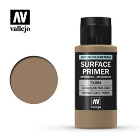 Vallejo SURFACE PRIMER German Dark Yellow RAL7028