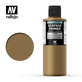 Vallejo Podkład akrylowy SURFACE PRIMER 200ml German Green Brown / Grunbraun RAL 8000