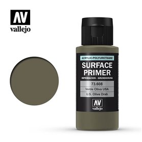 Vallejo SURFACE PRIMER US Olive Drab