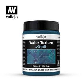 VALLEJO Sztuczna woda Błękit śródziemnomorski