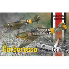 Eduard 1:48 BARBAROSSA - Messerschmitt Bf-109E i Messerschmitt Bf-109 F-2 - LIMITED EDITION