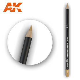 AK Interactive Watercolor Pencil Light Chipping for wood