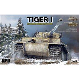 RFM 1:35 Pz.Kpfw.VI Tiger I early version w/full interior - Wittmann