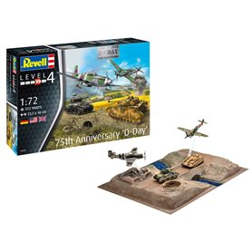 Revell 03352 75TH D-DAY Anniversary Set 1/72