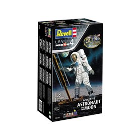 Revell 1:8 50TH MOON LANDING ANNIVERSARY - Apollo 11 - ASTRONAUTS ON THE MOON - z farbami