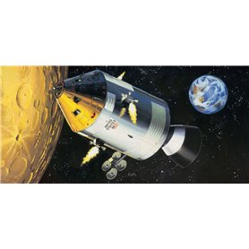 Revell 03703 Apollo 11 Spacecraft w/Interior 1/32