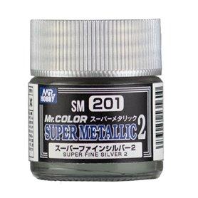 Gunze SM-201 Super Fine Silver 2