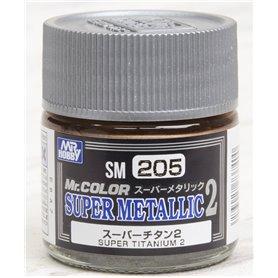 Mr.Color SUPER METALLIC SM-205 Super Titanium 2 - METALICZNY - 10ml