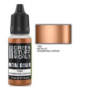Green Stuff World Metallic Paint STEAMPUNK COPPER - 17ml
