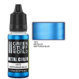 Green Stuff World Metallic Paint NEPTUNUS BLUE - 17ml