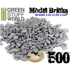 Green Stuff World Model Bricks – Grey x500