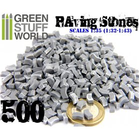Green Stuff World Model Paving Bricks – Grey x500