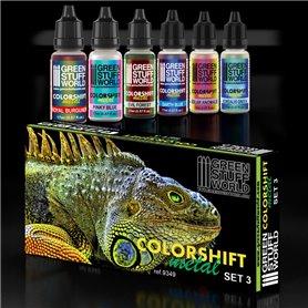 Zestaw farb opalizujących Colorshift Chameleon 3