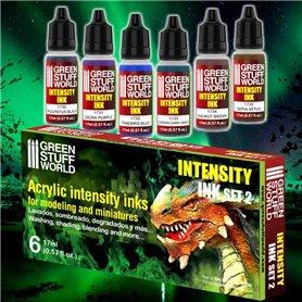 Green Stuff World Intensity Inks x6 - Set 2