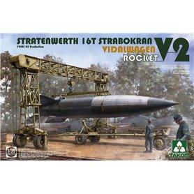 Takom 2123 16T Strabokran Vidalwagen V2 Rocket