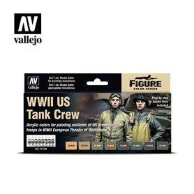 Vallejo Model Color Zestaw 8 farb - WWII US Tank Crew