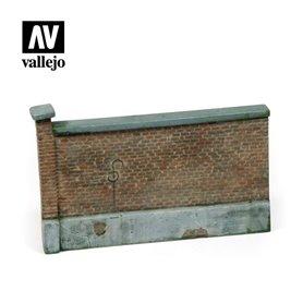 Vallejo Diorama Accessories Old Brick Wall 15x10 cm. 1:35