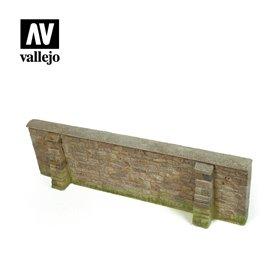 Vallejo DIORAMA ACCESSORIES 1:35 Normandy Village 24x7 cm. 1:35