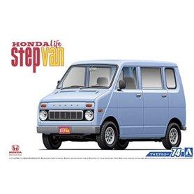 Aoshima 05571 1/20 Honda VA Life Step Van'74