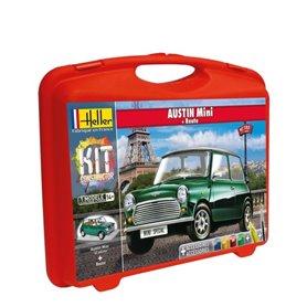 Heller 60153 Construction Kit - Austin Mini+podst.