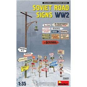 Mini Art 1:35 SOVIET ROAD SIGNS - WWII