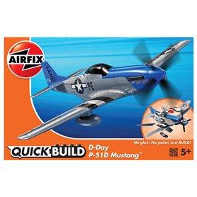 Airfix 6046 Quickbuild D-Day Mustang