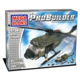 MEGA BLOKS Helikopter wojskowy 9786