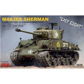 RFM 1:35 M4A3E8 Sherman z działającymi gąsienicami