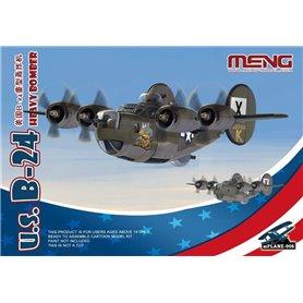 Meng mPLANE-006 U.S. B-24 Heavy Bomber Cartoon