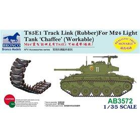 Bronco 1:35 Gąsienice T85E1 do M4 Sherman / M3 Lee