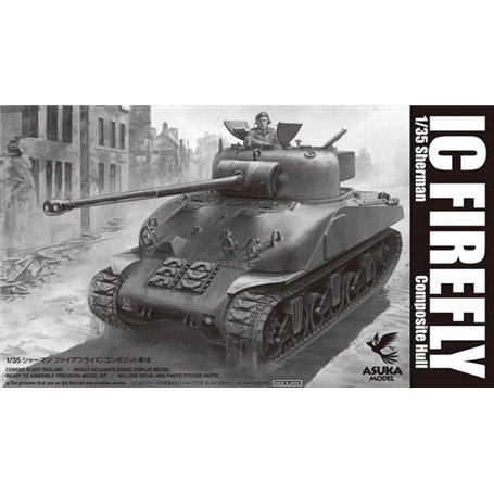 Asuka 1:35 Sherman IC Firefly - COMPOSITE HULL - Sklep Modelarski Agtom