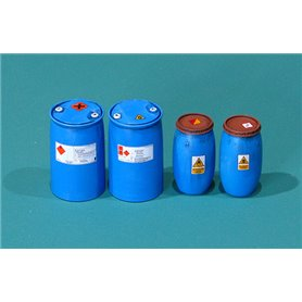 Eureka XXL 1:35 Plastikowe beczki na chemikalia - cz.2